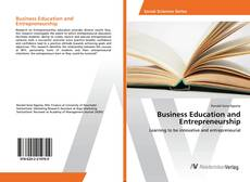 Business Education and Entrepreneurship的封面