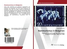 Buchcover von Kommunismus in Bulgarien