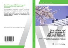 Buchcover von Beurteilung und Optimierung der Wärmebrücken bei begrünten Fassaden