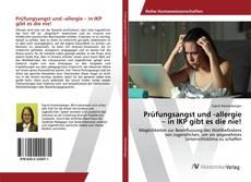 Buchcover von Prüfungsangst und -allergie – in IKP gibt es die nie!