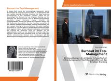 Buchcover von Burnout im Top-Management