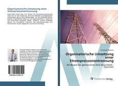 Buchcover von Organisatorische Umsetzung einer Strompreiszonentrennung