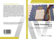 Bookcover of Taqwā: Frömmigkeit im Islam