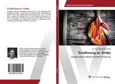 Capa do livro de Ernährung vs. Krebs