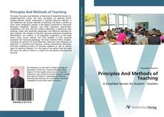 Bookcover of Principles And Methods of Teaching