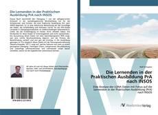 Обложка Die Lernenden in der Praktischen Ausbildung PrA nach INSOS