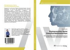Bookcover of Kompression beim Simultandolmetschen