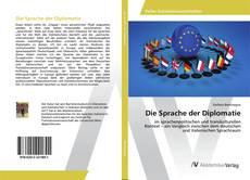 Portada del libro de Die Sprache der Diplomatie