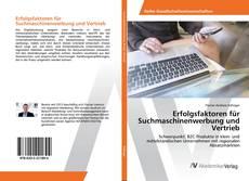 Buchcover von Erfolgsfaktoren für Suchmaschinenwerbung und Vertrieb