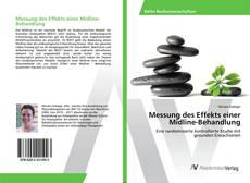 Capa do livro de Messung des Effekts einer Midline-Behandlung