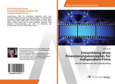 Bookcover of Entwicklung eines Finanzierungskonzeptes für Independent-Filme