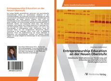 Buchcover von Entrepreneurship Education an der Neuen Oberstufe