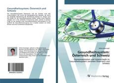 Bookcover of Gesundheitssystem: Österreich und Schweiz