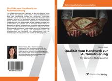 Portada del libro de Qualität vom Handwerk zur Automatisierung