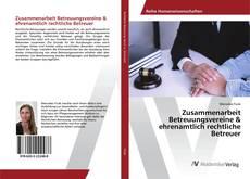 Обложка Zusammenarbeit Betreuungsvereine & ehrenamtlich rechtliche Betreuer