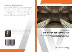 Die Horen der Demokratie kitap kapağı