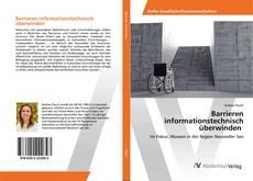 Обложка Barrieren informationstechnisch überwinden