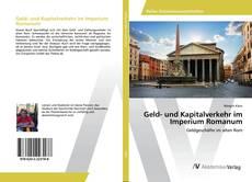 Capa do livro de Geld- und Kapitalverkehr im Imperium Romanum