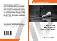 Portada del libro de Geschichte und Hintergründe