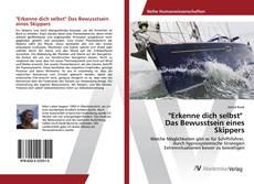"""Bookcover of """"Erkenne dich selbst"""" Das Bewusstsein eines Skippers"""