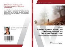 Buchcover von Wirkfaktoren der Sport- und Trainingstherapie am Neuromed Campus Linz