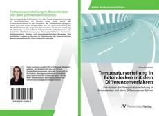 Portada del libro de Temperaturverteilung in Betondecken mit dem Differenzenverfahren