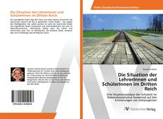 Bookcover of Die Situation der LehrerInnen und SchülerInnen im Dritten Reich