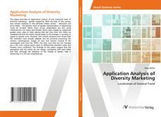 Copertina di Application Analysis of Diversity Marketing