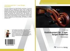 Capa do livro de Violinkonzert Nr. 1 von Sergei Prokofiev