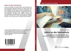 Buchcover von Lehre an der Hochschule