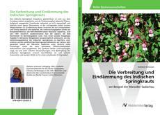Buchcover von Die Verbreitung und Eindämmung des Indischen Springkrauts