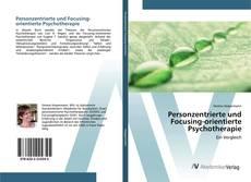 Обложка Personzentrierte und Focusing-orientierte Psychotherapie