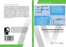 Capa do livro de Kommunikationskanäle