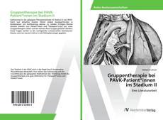Capa do livro de Gruppentherapie bei PAVK-Patient*innen im Stadium II