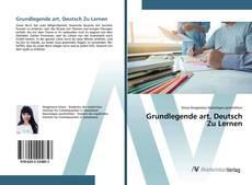 Capa do livro de Grundlegende art, Deutsch Zu Lernen