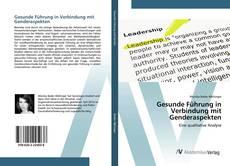 Buchcover von Gesunde Führung in Verbindung mit Genderaspekten
