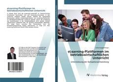 eLearning-Plattformen im betriebswirtschaftlichen Unterricht kitap kapağı