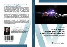 Buchcover von Insourcing von Supportprozessen als mögliche Kostenreduktion