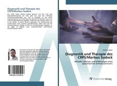 Portada del libro de Diagnostik und Therapie des CRPS/Morbus Sudeck