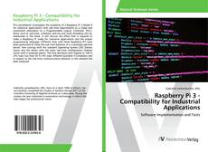 Capa do livro de Raspberry Pi 3 - Compatibility for Industrial Applications