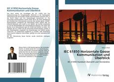 Buchcover von IEC 61850 Horizontale Goose Kommunikation und Überblick