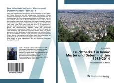 Buchcover von Fruchtbarkeit in Kenia: Muster und Determinanten 1989-2014