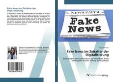 Bookcover of Fake News im Zeitalter der Digitalisierung