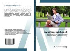 Bookcover of Erwachsenenpädagogik