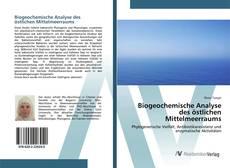 Borítókép a  Biogeochemische Analyse des östlichen Mittelmeerraums - hoz