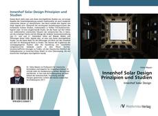 Capa do livro de Innenhof Solar Design Prinzipien und Studien
