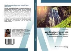 Buchcover von Wiederverwendung von häuslichem Abwasser