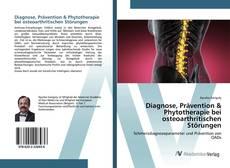 Portada del libro de Diagnose, Prävention & Phytotherapie bei osteoarthritischen Störungen
