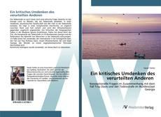Capa do livro de Ein kritisches Umdenken des verurteilten Anderen