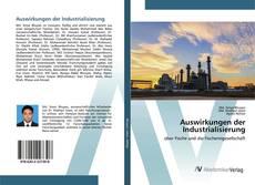 Обложка Auswirkungen der Industrialisierung